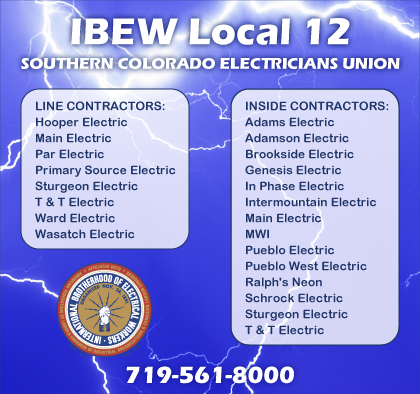 Affiliated Local Unions Index Colorado Builders Guide
